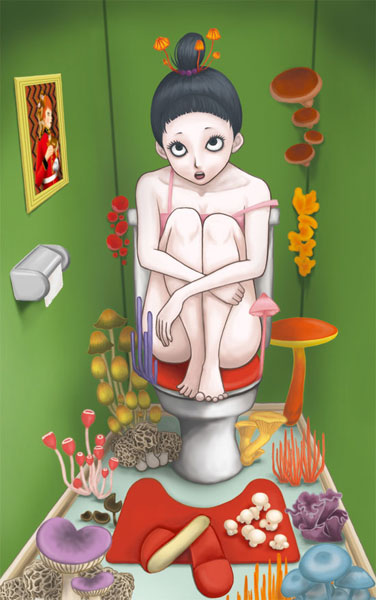 Mushroom WC