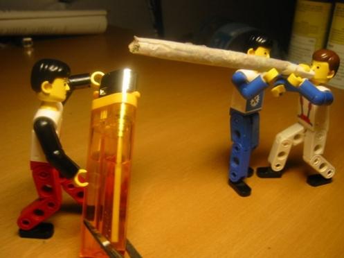 Lego-roll