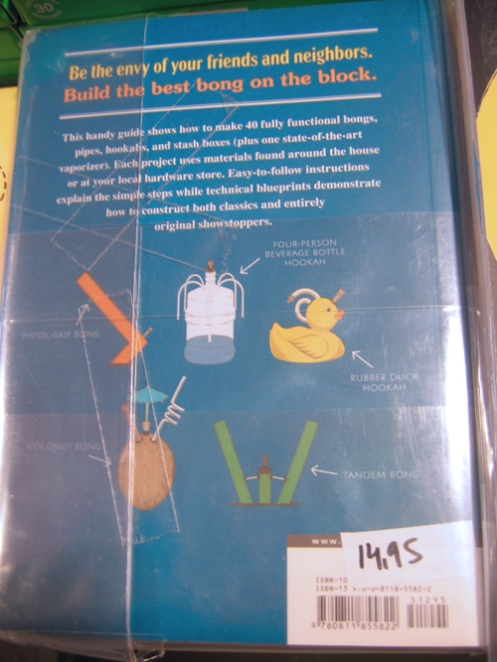 Build This Bong - Back Cover